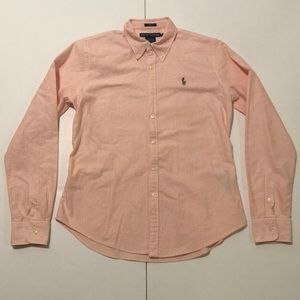 Ralph Lauren Boy's Size 12 Slim Fit Button Down